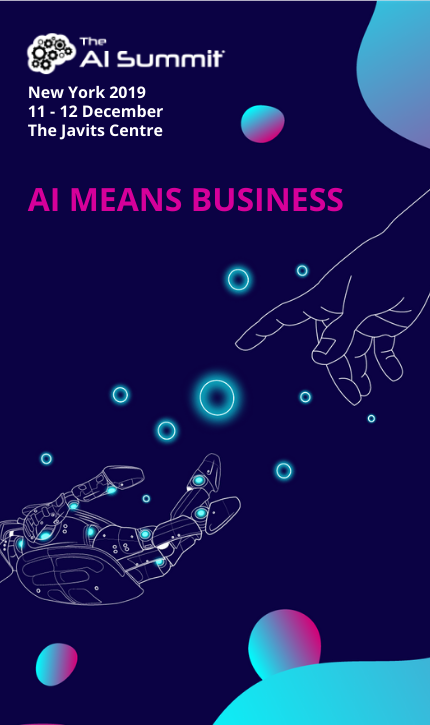 The AI Summit New York 2019 Banner